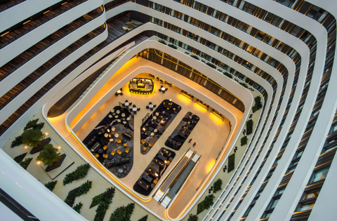 Hilton Redefines the Airport Hotel Concept with New, State-of-the-Art Hilton Amsterdam Airport Schiphol (Photo: Business Wire)