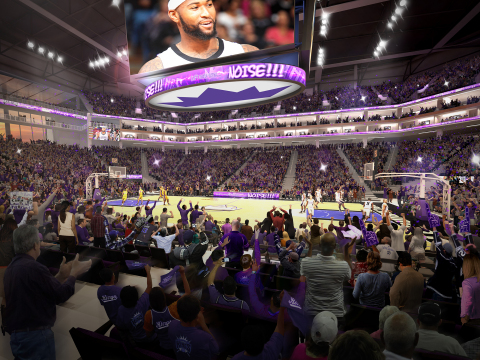 Today, the Sacramento Kings announced that Golden 1 Center will offer the world's most connected indoor sports and entertainment venue as the result of a new multi-year agreement with Comcast Corporation. (Photo: Business Wire)
