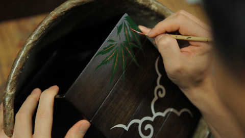 ADK introduces in their video locally made lacquerware, pottery, and Japanese sake breweries operating in Fukushima and Miyagi Prefectures (Photo: Business Wire)