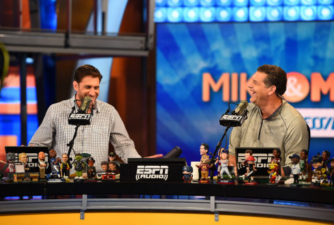 Golic and Greenberg (Photo: Business Wire)
