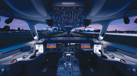 Rockwell Collins' Pro Line Fusion® advanced avionics enables extensive situational awareness capabil ...