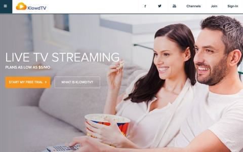KlowdTV is a live streaming TV service providing a la carte and micropackage channel selections on a ...