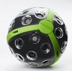The Panono 360-degree camera has 36 individual cameras embedded all around it to capture everything in every direction with just one shot and deliver high-resolution, fully spherical panoramas. (Photo: Business Wire)