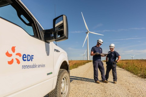 EDF Renewable Services wins contract with ALLETE Clean Energy (Photo: Business Wire)