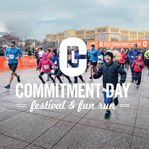 2016 Commitment Day Festival and Fun Run (Graphic: Business Wire).