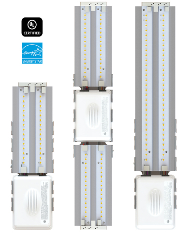 Terralux introduces ENERGY STAR(R) certified LED engines SR308 and SR312 for use in commercial wall sconces. (Photo: Business Wire)