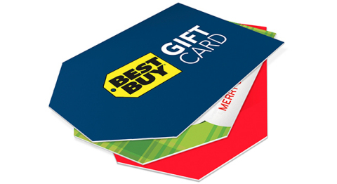 Best Buy Gift Cards (Photo: Business Wire)