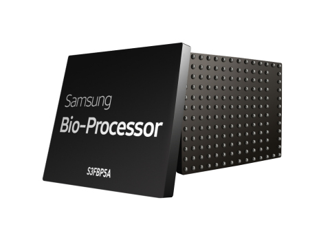 Samsung Bio-Processor all-in-one health solution chip (Photo: Business Wire)
