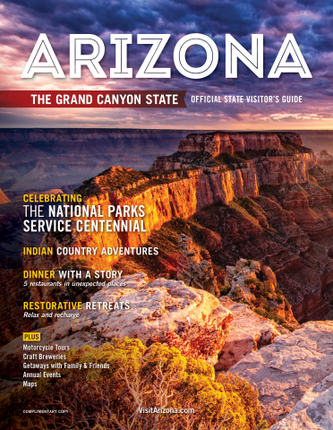 The 2016 Arizona Official State Visitor's Guide (Graphic: Business Wire)