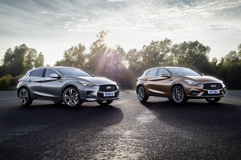 2017 Infiniti QX30 and QX30S (Photo: Business Wire)