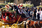 Wells Fargo honors military veterans at the 2016 Rose Parade® by featuring riders on its iconic stagecoach from No Barriers USA Warriors to Summits and New Directions For Veterans. (Photo: Business Wire)