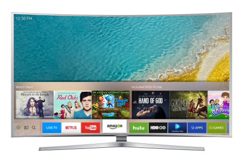 Samsung Electronics introduced its new Smart TV user experience for 2016. The new Smart Hub interfac ...