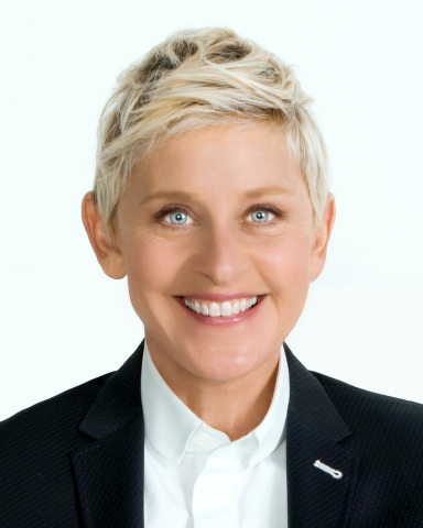 Ellen DeGeneres to Receive Fourth Annual People's Choice Award for Favorite Humanitarian (Photo: Business Wire)