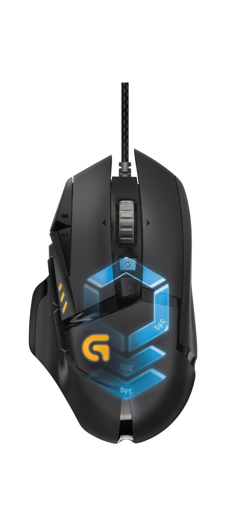 55f74a968d1 Logitech Announces New G502 Proteus Spectrum Gaming Mouse | Logitech ...