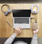 Backup Plus Ultra Slim Mobile Hard Drive Lifestyle (Photo: Business Wire)