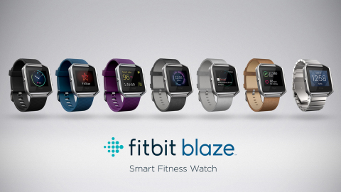 Introducing Fitbit Blaze: a sleek smart fitness watch built to help you make the most out of your workouts with a versatile design that fits your personal style. (Graphic: Business Wire)