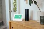 The Vivint Glance display and Amazon Echo (Photo: Business Wire)
