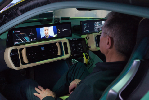 Collaboration announced at CES 2016 streamlines functionality between HARMAN Connected Car Systems and Microsoft Productivity Services (Photo: Business Wire)