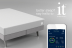 The it bed by Sleep Number effortlessly quantifies your sleep, connects to select applications, and has predictive modeling that makes suggestions to improve your sleep. (Graphic: Business Wire)