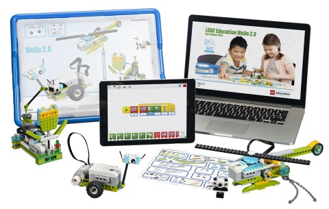 LEGO Education WeDo 2.0 is a hands-on, elementary science solution that develops science practices in the classroom through a robot-based learning system. (Photo: Business Wire)
