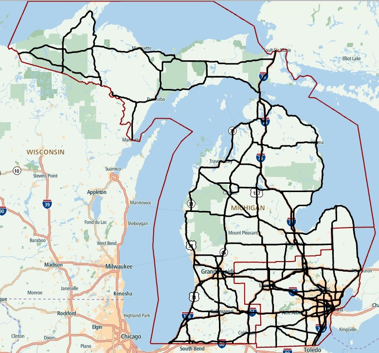 TomTom Delivers Highly Automated Driving Maps For All Interstate - Us maps for tomtom