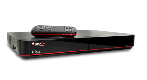 "DISH Network L.L.C. today unveiled Hopper 3, the next generation of the company's whole-home DVR. Hopper 3 features 16 tuners, 4K content options including the proprietary ""Sports Bar Mode,"" and integration of Netflix into its universal search results. (Photo: Business Wire)"