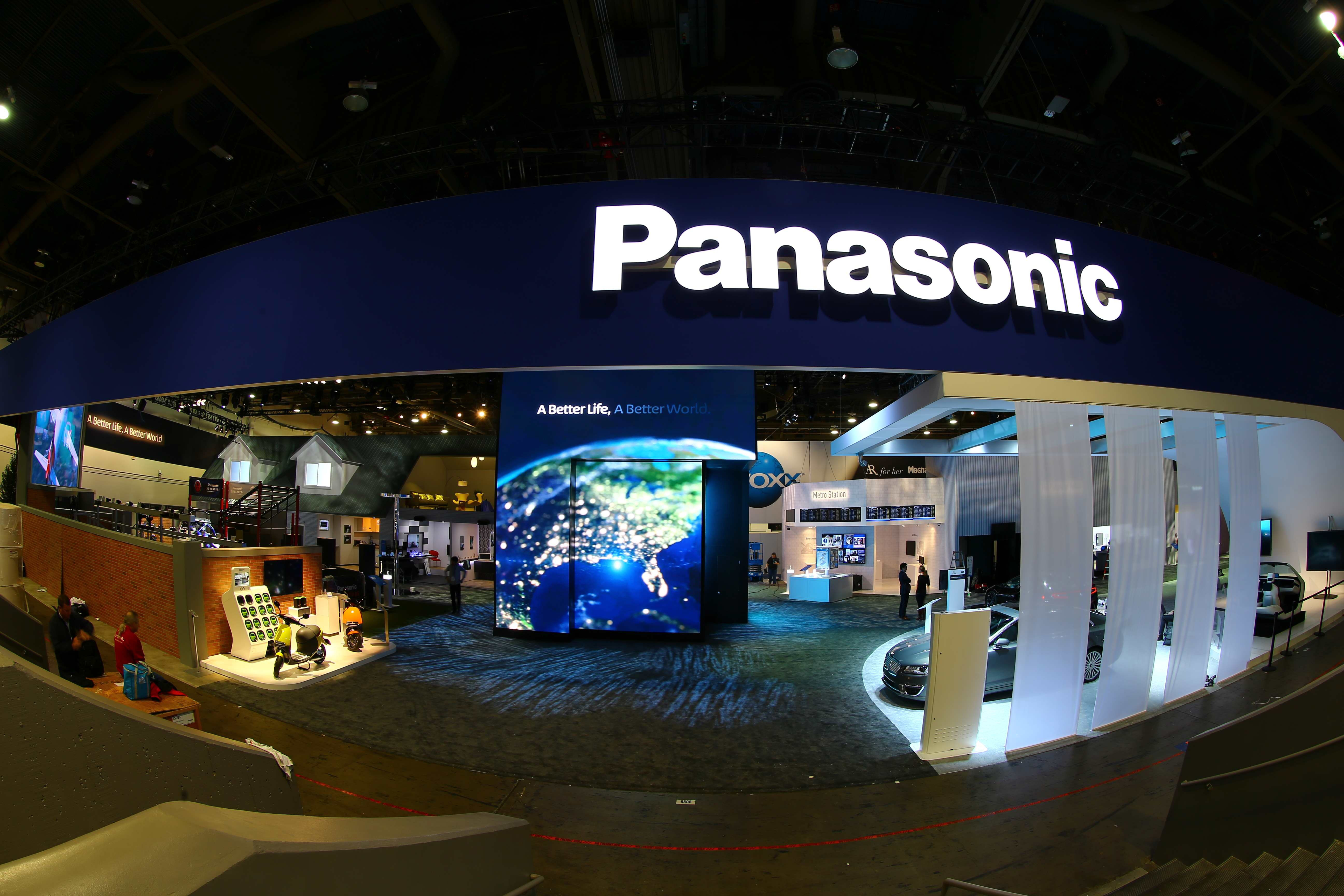 panasonic booth overview at ces 2016 business wire. Black Bedroom Furniture Sets. Home Design Ideas