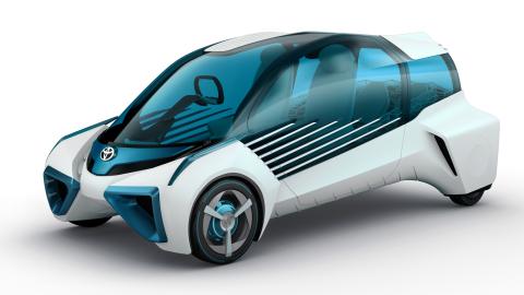 Toyota FCV Plus (Photo: Business Wire)