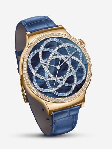 Huawei Watch Jewel with Ruby Blue Strap (Photo: Huawei)