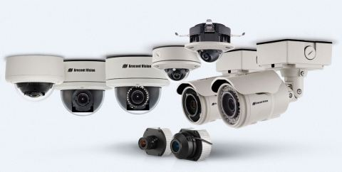 Arecont Vision 1-3MP Camera Families. (Photo: Business Wire)