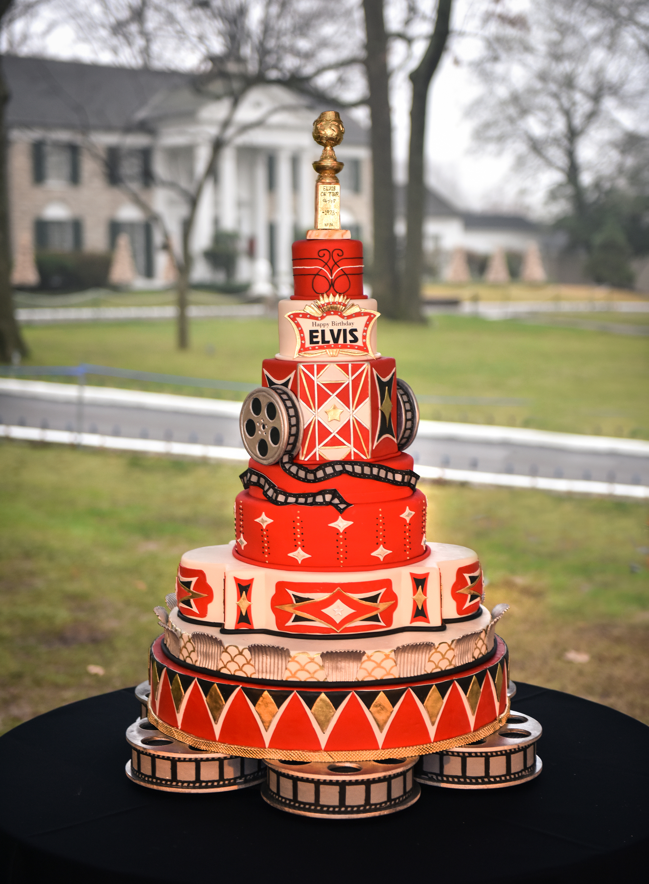 Incredible Graceland Celebrates Elvis Birthday As The Guest House At Personalised Birthday Cards Sponlily Jamesorg