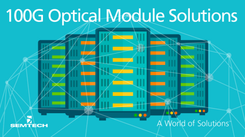 Semtech and MultiPhy Enter into a Strategic Agreement to Bring to Market a Complete Chipset for 100G Single Wavelength Optical Module Solutions (Graphic: Business Wire)