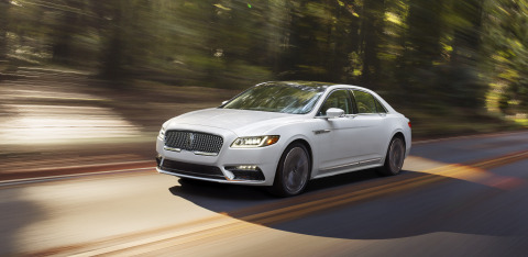 2017 Lincoln Continental (Photo: Business Wire)