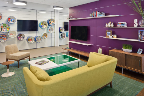 Features of the iPS Studio include a Consumer Interaction space enabling live, direct observation of consumers interacting with our customers' products and packaging in areas like retail, kitchen, living and bathroom environments. (Photo: Business Wire)