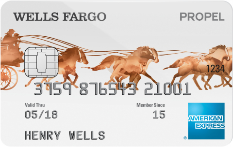 Wells Fargo Propel American Express® Card (Graphic: Business Wire)