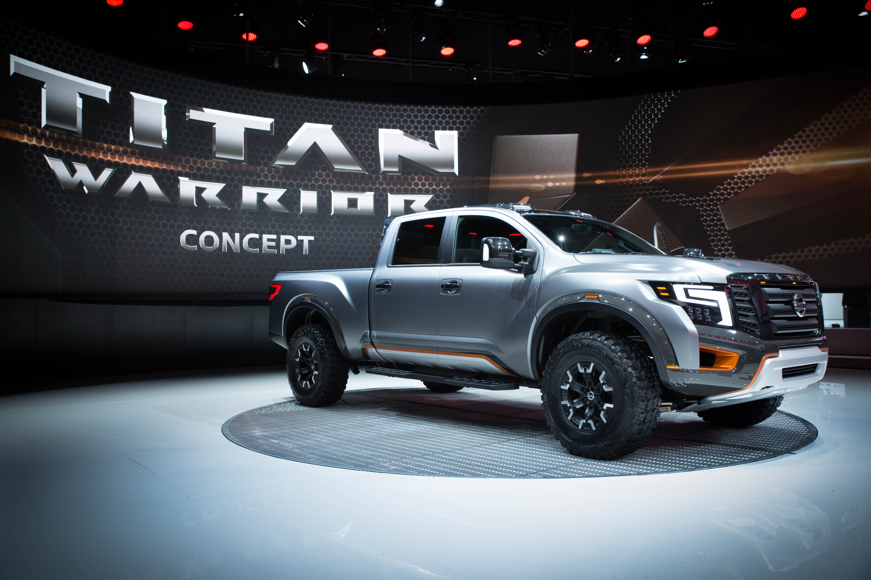 Nissan titan warrior concept and nissan ids concept featured at nissan titan warrior concept and nissan ids concept featured at 2016 north american international auto show business wire vanachro Images