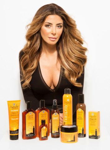 Larsa Pippen Named Celebrity Spokeswoman for Innovative Hair Care Brand Agadir Argan Oil (Photo: Bus ...