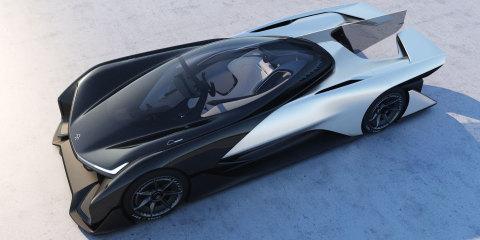 Racecar. Courtesy of Faraday Future