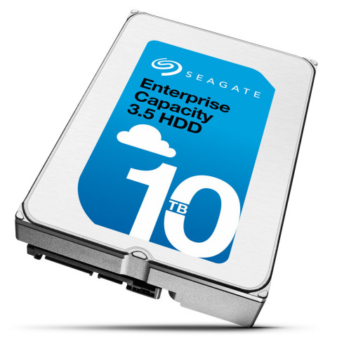 Seagate Enterprise 3.5 Capacity HDD 10TB (Photo: Business Wire)