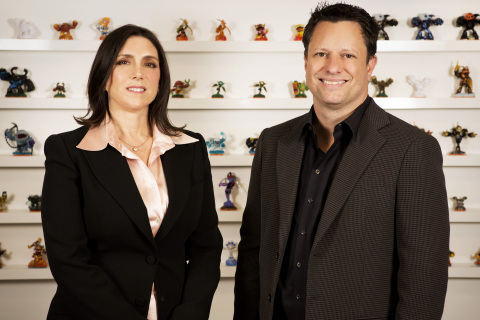 Activision Blizzard Studios Co-Presidents Stacey Sher (L) and Nick van Dyk (R) (Photo: Activision Bl ...