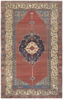 """Bakshaish, 11'2"""" x 18', second quarter, 19th century. This nearly two centuries old, world-class-caliber carpet is absolutely spellbinding and demonstrates the consummate work of master weavers in its perfectly balanced composition, extremely impactful colors and seldom-seen depths of creativity. (Photo: Business Wire)"""