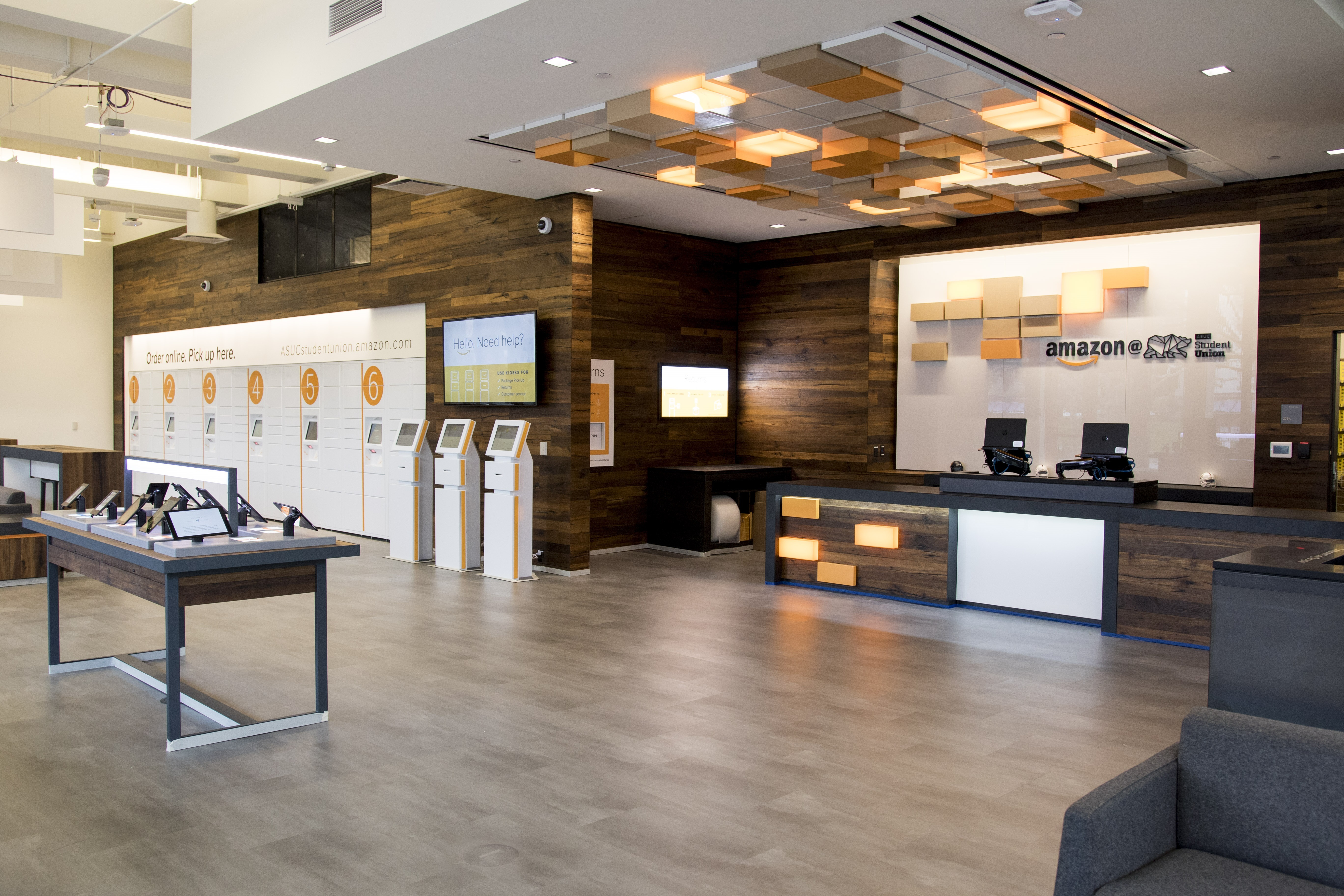 Amazon opens Amazon@ASUC Student Union on the UC Berkeley campus (Photo: Business Wire)