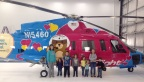 Recently, Axalta partnered with SureFlight premiere aviation completion specialists to refinish two colorful, child-friendly pediatric critical care transport helicopters for Nicklaus Children's Hospital. (Photo: Axalta)