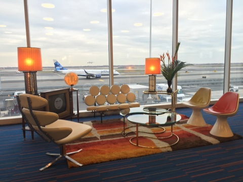 JetBlue launched new Palm Springs service from JFK on January 14 with a mid-century modern celebration. (Photo: Business Wire)