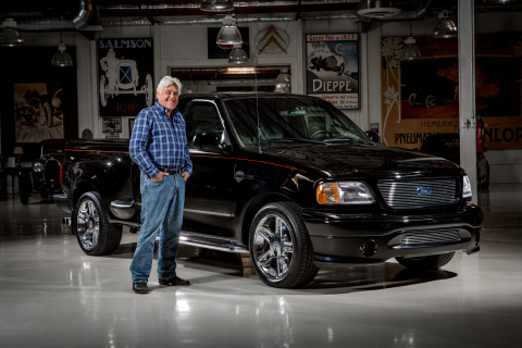 Ford Motor Company and Jay Leno, renowned auto enthusiast and star of Jay Leno's Garage, are teaming ...