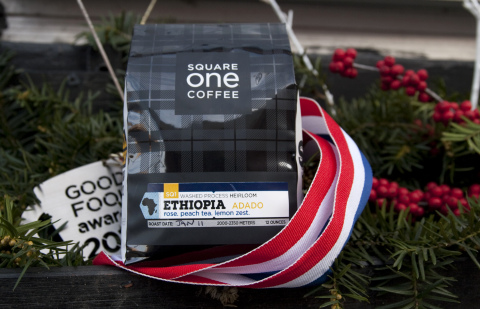 Square One Coffee has been named a Good Food Award winner in the Coffee category for the third year in a row. This year's award winning Ethiopia Adado is now available for sale by the bag at all three of their retail locations and online while it lasts. www.squareonecoffee.com (Photo: Business Wire)