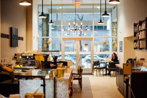 Square One Coffee, an award winning, family owned company, recently announced the opening of its second coffee shop in Center City Philadelphia. Join them at their newest location at 1811 JFK Boulevard for a Grand Opening Happy Hour celebration from 4pm-6pm on Thursday, February 11th. (Photo: Business Wire)