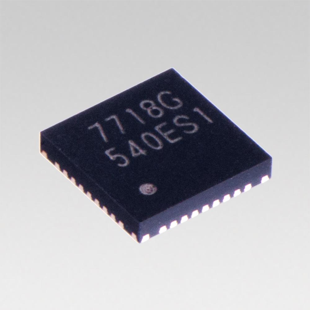 "Toshiba: a wireless power transmitter IC ""TC7718FTG"" with a 15W transmission capability. (Photo: Business Wire)"