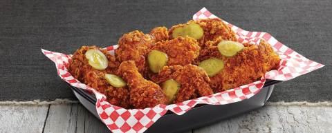 KFC Nashville Hot launches nationwide January 18, 2016. (Photo: Business Wire)