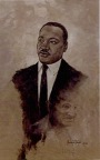 Painting by Reyes' father that won Coretta Scott King-sponsored national art contest in memory of Martin Luther King, Jr. (Photo: Business Wire)